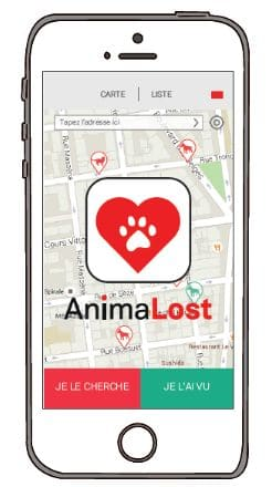 Animalost Application mobile