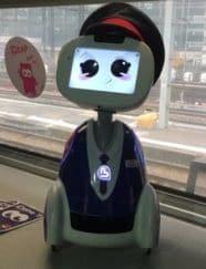BLUE FROG ROBOTICS  et iDTGV associent leur savoir-faire pour inventer les services de demain