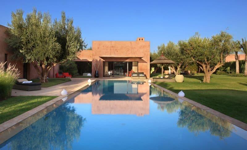 Location de villa de prestige à Marrakech