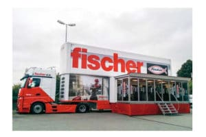 Fischer TourTruck : 1er centre mobile de formation et d'exposition